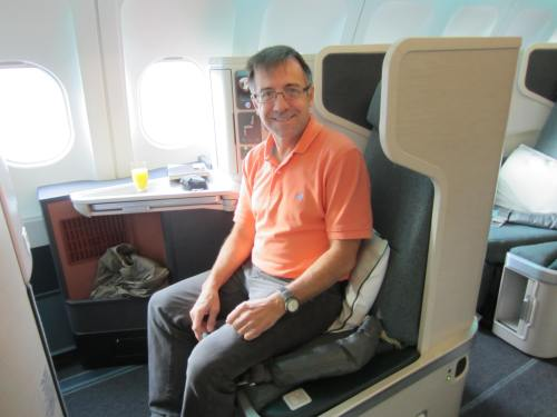Cathay Pacific Business Class Suit