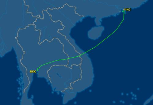 flight aware cx 705