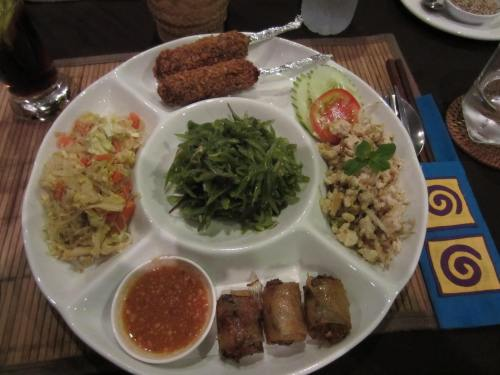 Meal in Laos