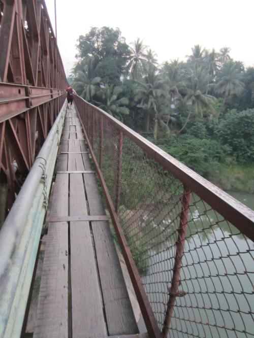 Luang Prabang walking bridge