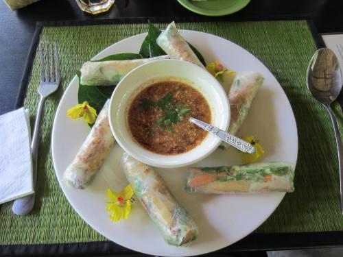Pha Tad Ke Botanical Garden lunch