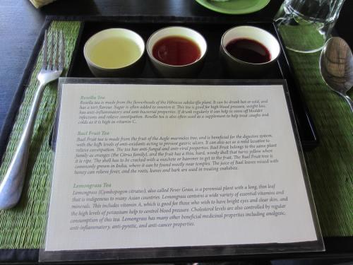 Pha Tad Ke Botanical Garden Tea Tasting