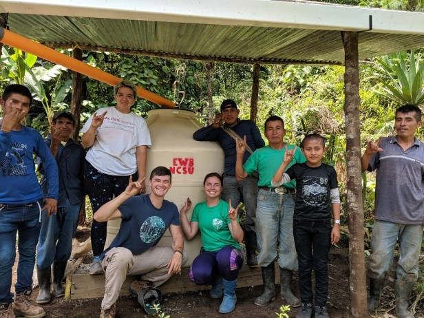 NSCU Engineers Without Borders - Guatemala Water Systems